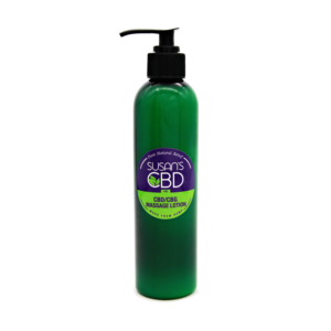 Susan's CDB CBG Massage Oil